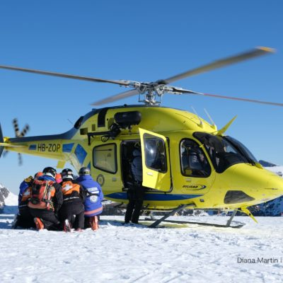 Simulacre rescat helicòpter de Diana Martin